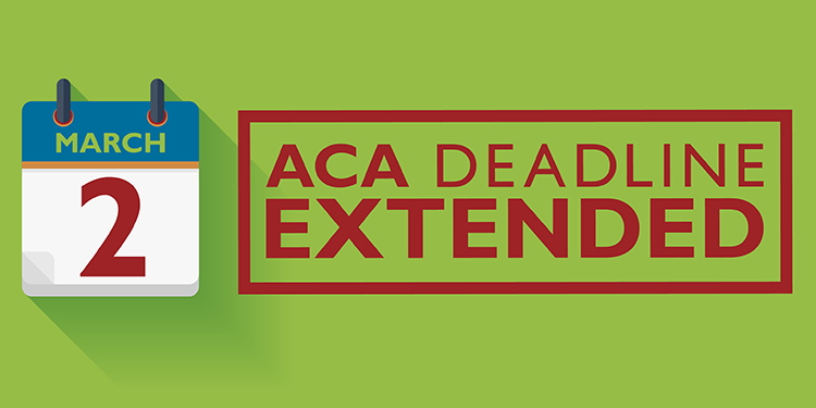 Distribution deadline for ACA returns