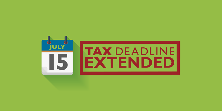 Tax deadline extended to July 15